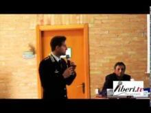 Domenico De Biasio Capitano dei Carabinieri di Soveria Mannelli - Convegno su uso e abuso di alcol a Soveria Mannelli