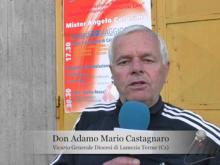 """Don Adamo Mario Castagnaro – Intitolazione Tribuna """"Angelo Colosimo"""" (Soveria Mannelli)"""
