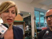 On. Dorina Bianchi in visita al Lanificio Leo di Soveria Mannelli (Cz)