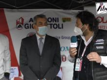 Giro d'Italia 2021 - Marco Bellini intervista Walter Parenti e Roberto Ivone . Tappa 4.