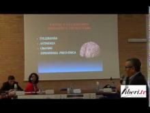 Egidio Battaglia (Unità di Alcologia SerT di Soverato) - Convegno su uso e abuso di alcol a Soveria Mannelli