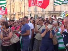 Manifestazione 18 Luglio 2016 Slp Cisl – Intervento di Enzo Cufari Segretario Regionale SLP Cisl Calabria