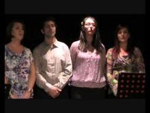 Esibizione del Coro della John Coltrane Music School