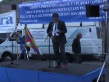 Intervento di Esmail Mohades - IX Marcia Internazionale per la Libertà
