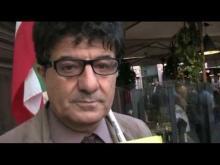 VI Marcia Internazionale per la Libertà - Intervista a Esmail Mohades