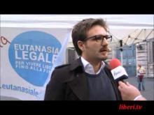 Rocco Berardo - Mobilitazione straodinaria su raccolta firme EutanaSIALegale - Roma 04/05/13
