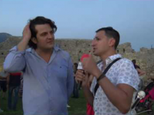 Intervista a Fedele Montuoro, Assessore Comune di Cleto - Inaugurazione Castello di Savuto (Cleto)