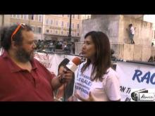Filomena Gallo - Walk Around per l'Eutanasia legale organizzato dall'Ass. Luca Coscioni 11/09/14
