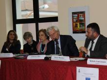 Un momento della presentazione del libro Stato e criminalità a Strongoli