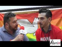 """Diritti per una vita Egualitaria"" Marco Marchese intervista Francesco Bart Furfaro Presidente Arcigay Kaleidos 20/05/13"