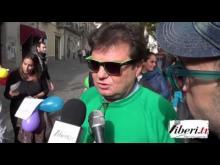 Francesco Grandinetti Direttore City One - Sentinelle in piedi a Lamezia Terme (CZ) 30/11/14