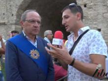 Intervista a Francesco Iacucci, Pres. Provincia di Cosenza - Inaugurazione Castello di Savuto (Cleto)