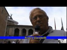 Franco Giacomelli alla manifestazione #MARINODIMETTITI in sostegno di Sabella e Marino