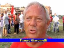 Franco Giacomelli - Sit-in di SEL a Ostia per il mare libero