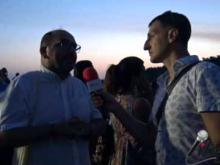 Intervista a Franco Roppo Valente, Associazione La Piazza - Inaugurazione Castello di Savuto (Cleto)