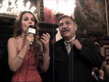 Claudia Corinna Benedetti e Gaetano Speciale - Serata di beneficenza organizzata dall'ONPS