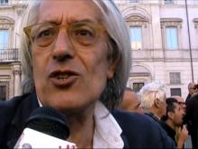 """Geppi Rippa - """"A subito"""": piazza Navona saluta Marco Pannella"""