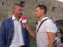 Intervista a Giacomo Mancini Jr - Inaugurazione Castello di Savuto (Cleto)