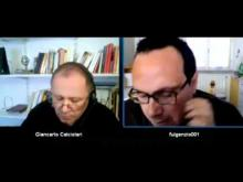 """Intervista a Alessandro Taglioni, artista e scrittore, sul suo libro """"La materia, Dio, l'arte"""", a cura di Giancarlo Calciolari"""