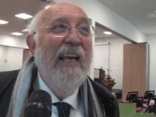 """Gino Crisci, Rettore Università della Calabria - """"Officina della cultura e della creatività"""" a Soveria Mannelli (CZ)"""