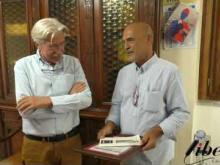 Giordano Bruno Guerri visita il Comune di Soveria Mannelli (Cz)