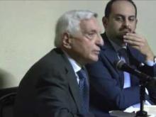 """""""Sfascismo costituzionale"""" di Giulio Ercolessi. Intervento di Giorgio La Malfa"""