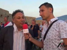 Intervista a Giuseppe Filice, ViceSindaco del Comune di Cleto - Inaugurazione Castello di Savuto (Cleto)