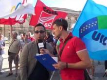 Manifestazione 18 Luglio 2016 – Intervista a Giuseppe Franchina, Coordinatore Giovani Uil Poste Calabria