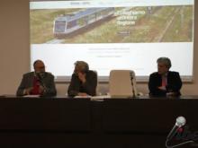 Intervento di Giuseppe Lo Feudo - Dir. Generale Ferrovie della Calabria. Ferrovia Soveria Mannelli - Catanzaro