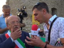 Intervista al Sindaco di Cleto Giuseppe Longo - Inaugurazione Castello di Savuto (Cleto)