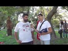 Intervista a Giuseppe Valentino (Camera del Lavoro di Catanzaro) - Calabria Pride 2014 (RC)
