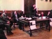 Un momento dell'evento presso il municipio di Catanzaro