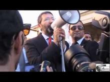 #IoStoConMarino - Ignazio Marino alla manifestazione in sostegno di... Ignazio Marino