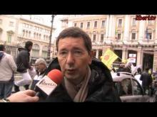 """""""Marcia di Natale 2013 per l'Amnistia, la Giustizia, la Libertà"""" - Intervista al Sindaco di Roma Ignazio Marino"""