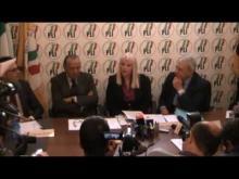 Ilona Staller alle elezioni comunali di Roma 2013 - Conferenza Stampa del PLI