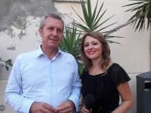 Benedetto Della Vedova intervistato da Jana Cardinale
