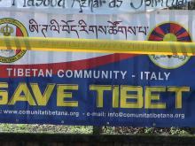 62° Anniversario dell'insurrezione di Lhasa - Roma  #FREETIBET