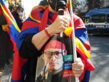 Marilia Bellaterra - 62° Anniversario dell'insurrezione di Lhasa - Roma  #FREETIBET