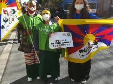 Dechen Dolkar - 62° Anniversario dell'insurrezione di Lhasa - Roma  #FREETIBET