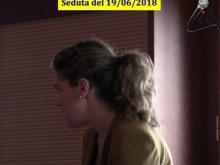 Francesca Biondo - Seduta del Consiglio Municipale Roma VII del 19/06/2018