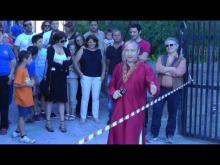Inaugurazione Piazzetta del Sole a San Giovanni in Fiore - Associazione Gunesh 28-07-2012