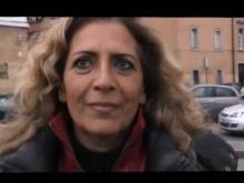Intervista a Marina Kodros - Presidio al Ministero della Salute contro Glaxo e RTC 25/03/13
