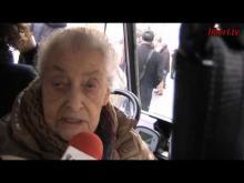 """""""Marcia di Natale 2013 per l'Amnistia, la Giustizia, la Libertà"""" - Interviste a Laura Arconti e Mina Welby"""
