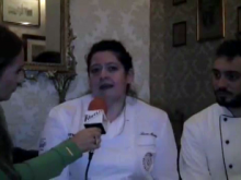 Laura Marciani (Chef) ed Enrico Camponenschi (Italian Kitchen Academy) - Le Frontiere del Made in Italy
