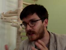 Leonardo Caffo Dottore di ricerca in Filosofia; membro del LabOnt (Università di Torino); fondatore e segretario della Onlus Gallinae in Fabula; co-direttore della rivista Animot, l'altra filosofia