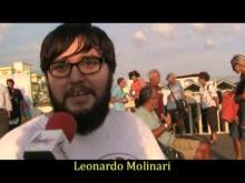 La breccia di Ostia - Manifestazione radicale contro gli ostacoli al libero accesso al mare (1 di 2)