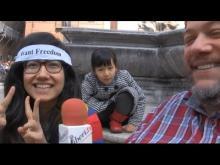 """""""Tibetan Independence Day"""" - Linda Kelsang Santu Lama (Roma) 14/02/2015"""