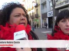 Intervista a Lindara Nobre Costa & Emanuela De Cicco - Marielle, Presente! 28/03/2018 Cosenza