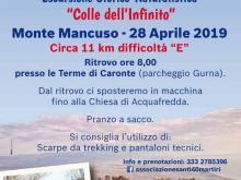 """Escursione storico-naturalistica """"Colle dell'Infinito"""" - Monte Mancuso 28 aprile 2019"""