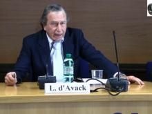 """Apertura di Lorenzo D'Avack, saluto di Giovanni Serges - """"Stato di diritto e diritti di libertà"""""""